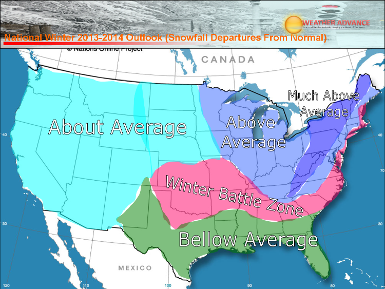 October 2014 Weather Predictions