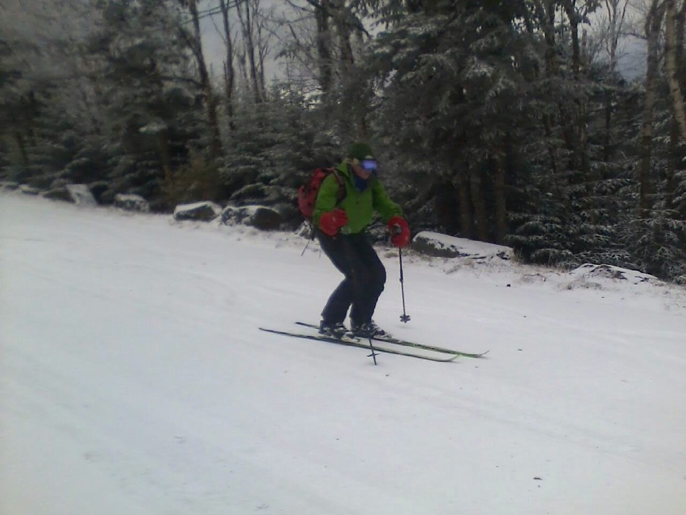 First Skiing at Whiteface